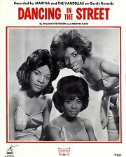 "Martha and the Vandellas 10"" x 8"" Photograph no 17"