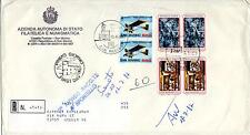 San Marino 1987 FDC AASFN Aerei Ultraleggeri e Biennale d'arte a San Marino