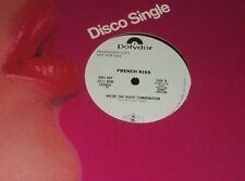 "FRENCH KISS We're the Right Combination 12"" DISCO FUNK PROMO RECORD"