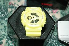 CASIO G-SHOCK GA-110BC-9A YELLOW NEW WITH TAGS