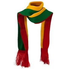 RASTA ETHIOPIA JAMAICA  GREEN,YELLOW, RED SELASSIE REGGAE SCARF-NEW