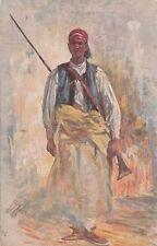 A5032) WW LIBIA, GUERRIERO DELLA BANDA DEL TARHUMA. ILLUSTRATORE XIMENES.