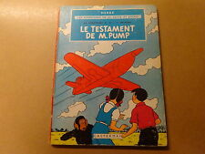 ALBUM BD / JO, ZETTE ET JOCKO 1: LE TESTAMENT DE M. PUMP | RE HC