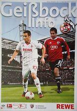 Geißbock Info 2012/13 1. FC Köln - FC Ingolstadt