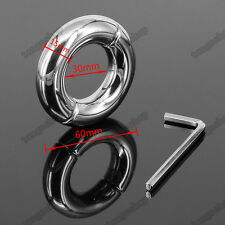 Quality Stainless Steel Metal testicle Ball Stretchers Bondage Ball Weights 200g