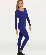 Body Wrappers MT217 Adult X Small (2-4) Royal Blue Full Body Long Sleeve Unitard