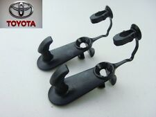 TOYOTA COROLA CAMRY AVALON 4RUNNER FLOOR MAT CARPET CLIPS SET HOOKS HOLDERS
