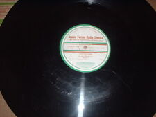 """33RPM 16"""" Armed Forces Radio Service Stories for Children Great Gildersleeve V"""