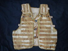 British Army Tactical Load Bearing Molle Assault Vest - DESERT DPM - Grade1 -DD