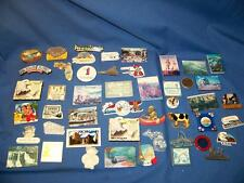 Lot of 47 Collectible  State Travel Souvenir Refrigerator Magnets