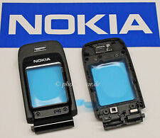 ORIGINALE Nokia 6060 B-cover guscio superiore vetro display fascia FRONT Housing 0268053