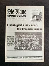 Bayernliga 85/86 TSV 1860 München - SV Heidingsfeld, 06.08.1985