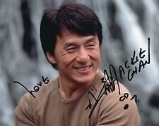 Jackie Chan signed 10x8 color photo