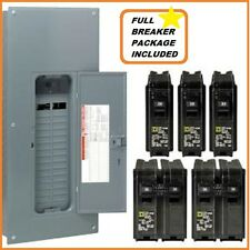 200 Amp Panel Box Load Center with Full Breaker Package Homeline Square D