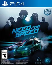 NEW Need for Speed (Sony PlayStation 4, 2015)
