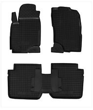 Mitsubishi OUTLANDER 2003-2008 Rubber Car Floor Mats All Weather Alfombras Goma