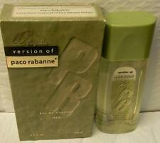 "Q PERFUMES VERSION OF PACO RABANNE MEN'S COLOGNE 3.4 OZ ""NEW"""