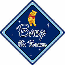 Disney Baby On Board Car Sign – Winnie The Pooh DB