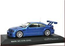 "BMW M3 GTR ( E46 ) "" Race Version "" estorilblau blue met. - IXO - 1:43 - LE"