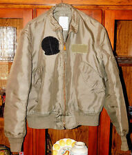 USAF NOMEX SUMMER FLIGHT JACKET CWU-36/P  L (42-44) Clean, nice condition!