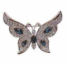 Fashion Jewelry - 18K Rose Gold Plated Butterfly Brooch (FP033)