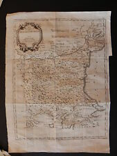 Bulgaria Romania Turchia map acquaforte originale Zatta 1789 Ucraina Mar Nero