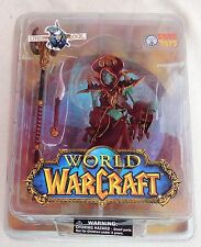 Figurine WORLD OF WARCRAFT. Undead Warlock. SOTA TOYS 2004. Neuf sous blister