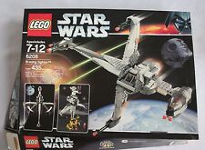 Lego Star Wars B-wing Fighter 6208 Box & Manual Used 99% Complete 2005