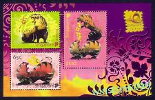 Singapore 2010 Zodiac Year of the Tiger - Thailand Bangkok Stamps Expo M/S
