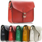 LADIES DESIGNER STYLE WOMENS SHOULDER BAG CROSS BODY MESSENGER SATCHEL HANDBAG