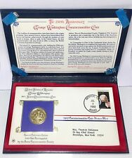 United States of America George Washington 1982 Commemorative Coin 90% NR COA