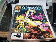 NEW MUTANTS  COMIC # 54  1987  MARVEL X MEN  hellions