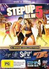 Step Up 1-5 (5 Movie Collection) - NEW DVD