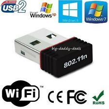 150 MBPS Mini Wireless USB ADAPTOR, 2.4 GHz,WiFi USB Adapter Wifi Dongle for PC