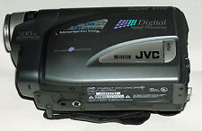 JVC GR-SX850 Super VHS Camcorder 16X Zoom Metallic Gray Replacement Camera Only