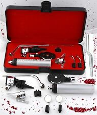 NEW  Otoscope & Ophthalmoscope Set ENT Surgical Instruments +1 FORCEP & 3 BULB