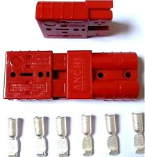 10x Battery Quick Connector 50A 8AWG Plug Disconnect Winch Trailer red #M1430 QL