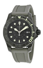Swiss Army Dive Master 500 Mechanical Automatic Mens Watch Grey Strap 241561