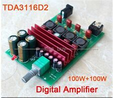 DC 12V-24V TDA3116 D2 100W+100W Dual Stereo Digital Audio Power Amplifier Board