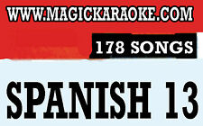 Magic Sing SPANISH 13 178 Song Chips Magic Mic Todo modelo Compatible