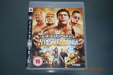 WWE Legends of Wrestlemania PS3 Playstation 3 **FREE UK POSTAGE**