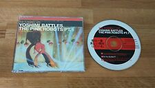 The Flaming Lips Yoshimi Battles Pink Robots UK CD Single W597CD1 Psych Rock