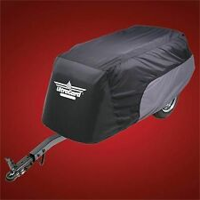 Trailer Cover -  Black over Charcoal Universal Fit - Goldwing GL1800