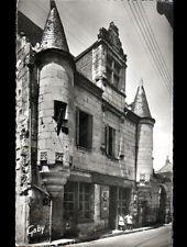 """CHOUZE (37) Commerce """"EPICERIE-BUREAU DE TABAC / AUX DEUX TOURELLES"""" animé 1950"""