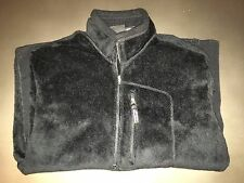 Patagonia Black Regulator Fleece Fuzzy Men's Size L
