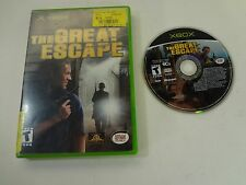 Great Escape Microsoft Xbox TESTED AND WORKING