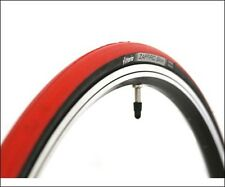 VITTORIA ZAFFIRO SLICK ROAD BICYCLE TIRE BLACK/RED 700 X 25C