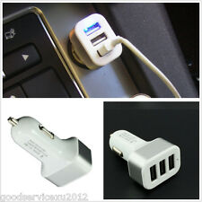 Practical 3 USB Interfaces Car Mini Charger Universal For Multi kinds Cellphone
