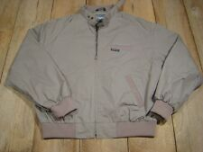 Vintage Members Only Jacket-Taupe-L-Cafe Racer-VGC