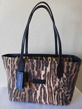 New Ralph Lauren Polo Golf Leopard Print Tote Handbag, Purse. RARE!